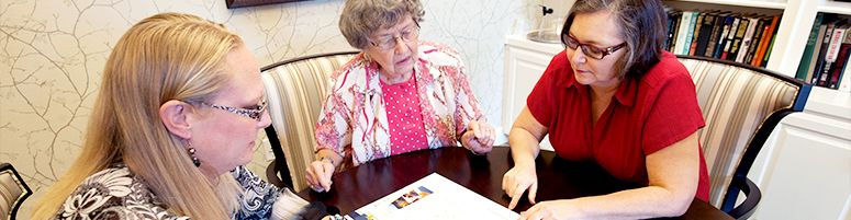 financial planning assisted living