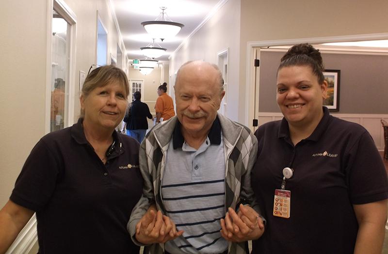 Darlene, Chuck, and Stephanie