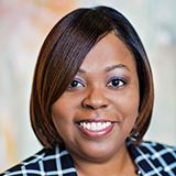 Schekesia Meadough, BSN, RN, CDP & VP of Health and Wellness for Autumn Leaves